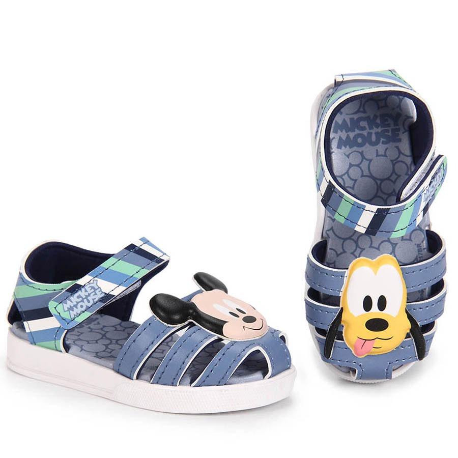 c8de3e52b sandália infantil grendene mickey - 17 ao 26 - azul. Carregando zoom.