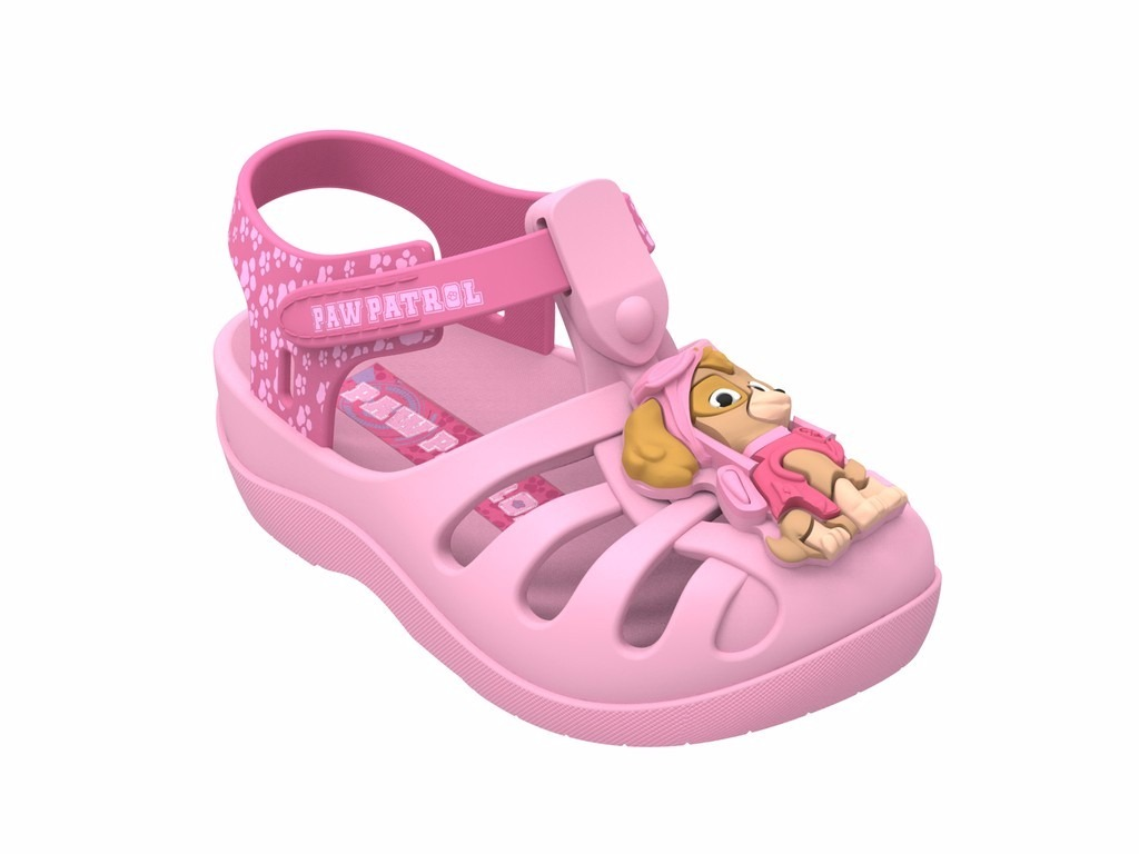 52a2222065 sandália infantil grendene patrulha canina rosa skye. Carregando zoom.