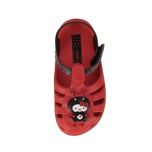 sandália infantil hello kitty feminina