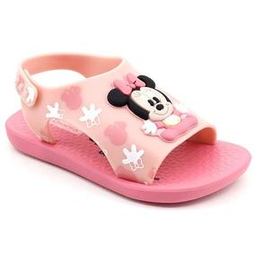 7067061098665e Sandália Infantil Ipanema Minnie Disney Love