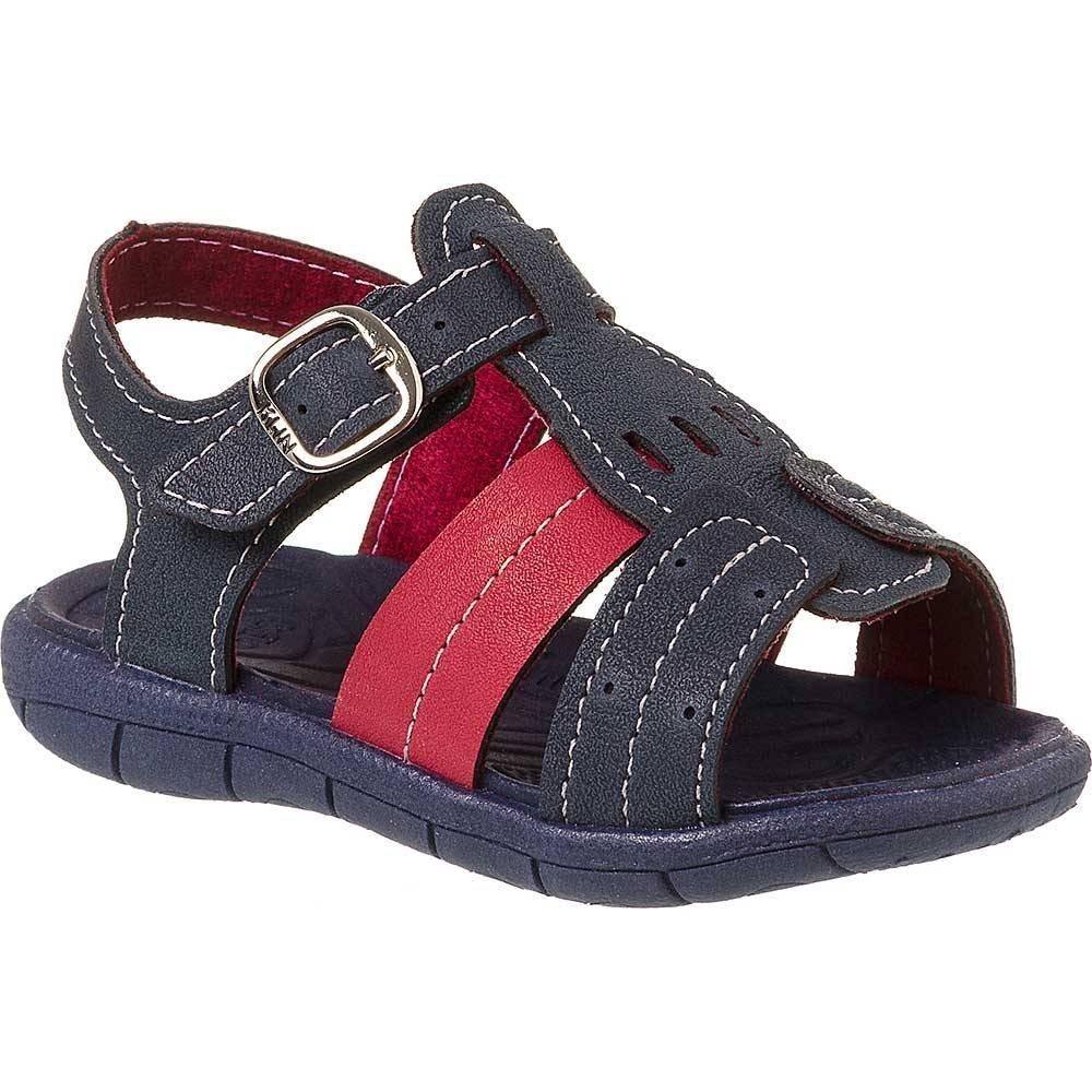 8310a231 sandália infantil masculina klin tic tac casual 171031. Carregando zoom.