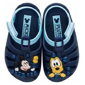 Sandália Infantil Menino Mickey Mouse Disney Macia Oferta