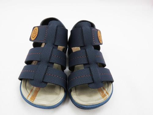 sandalia infantil menino molekinho ref:2140.219