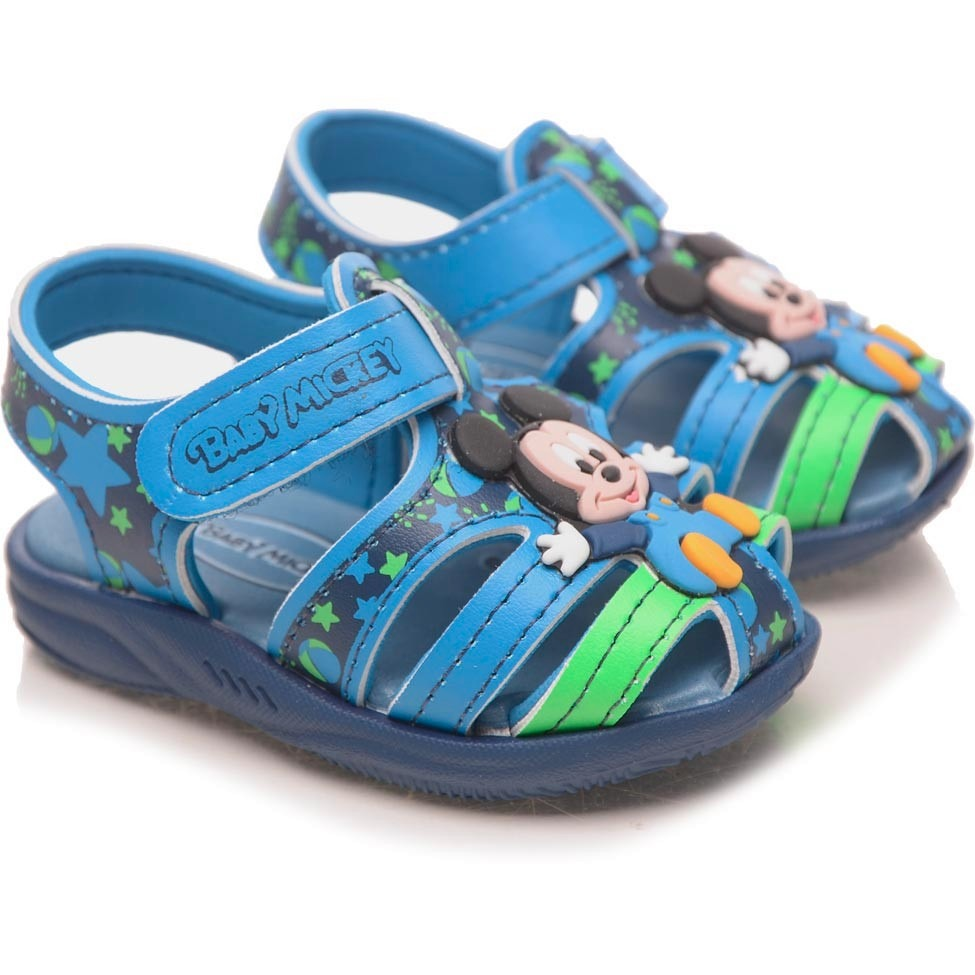 1ba77e9f2 sandália infantil mickey azul - grendene kids. Carregando zoom.