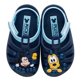 Sandália Infantil Mickey E Pluto Sunny Baby Grendene Kids