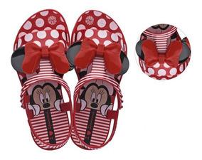 50df944d1c00ac Sandália Infantil Minnie Dots Disney Vermelho Ipanema Clique