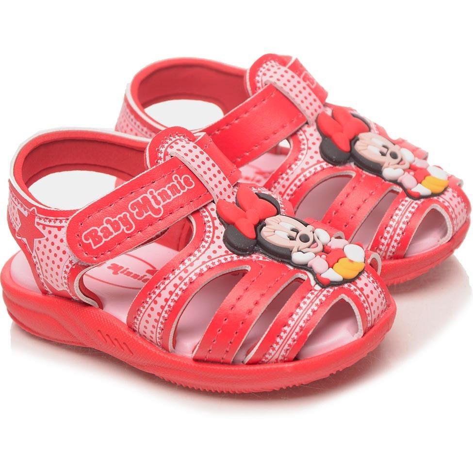 c29a9d892 sandália infantil minnie vermelha - grendene kids. Carregando zoom.