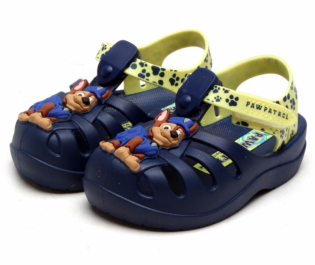 65e87e11f8 sandália infantil patrulha canina grendene kids azul chase. Carregando zoom.