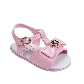 2cd04023b Sandalia Rosa Com Laco Pimpolho - Calçados, Roupas e Bolsas no Mercado  Livre Brasil