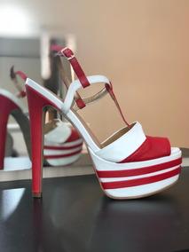 2003fd3ff Sandalias Para Festa Salto 15 Cm - Sapatos com o Melhores Preços no ...