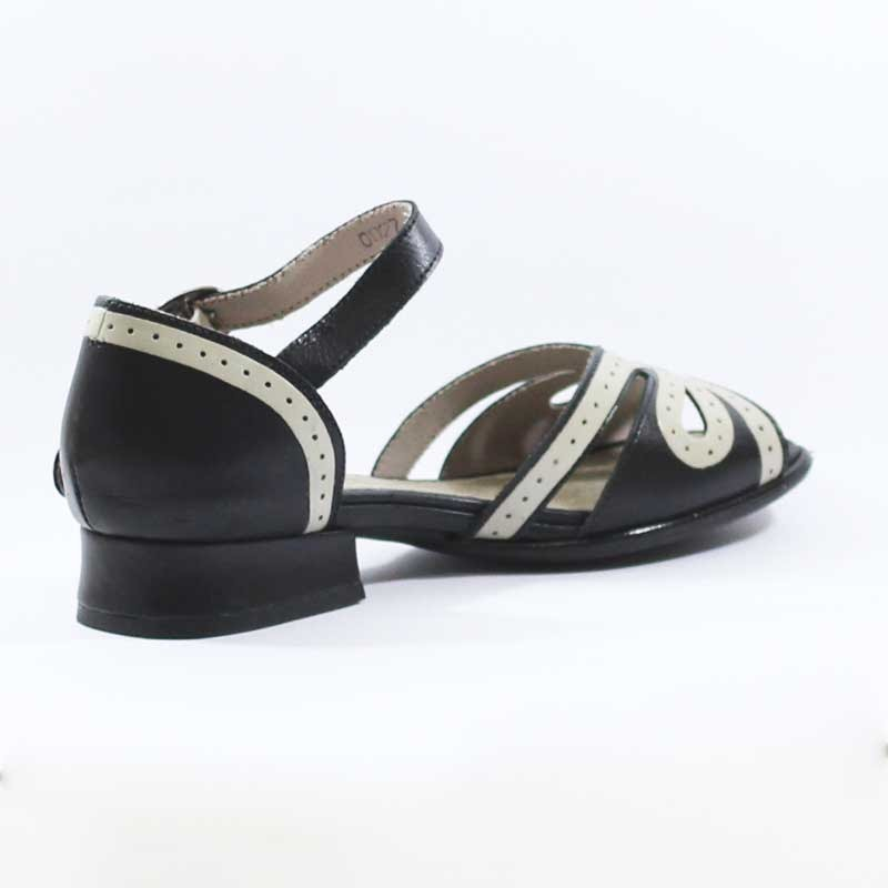 563a924060 sandália j.gean salto quadrado estilo retrô vintage - bj0027. Carregando  zoom.