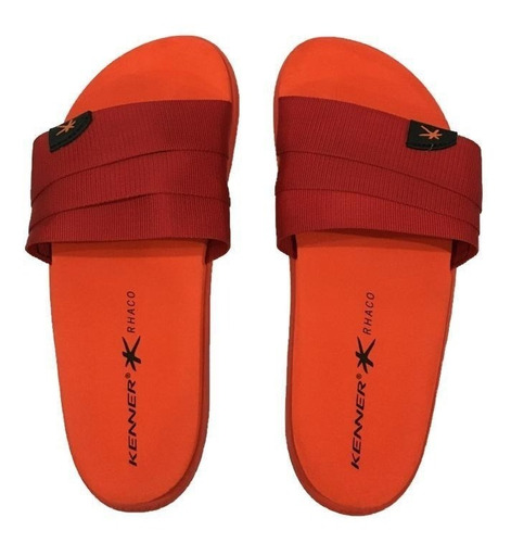 sandália kenner rhaco s-on hold colors - vermelho - original
