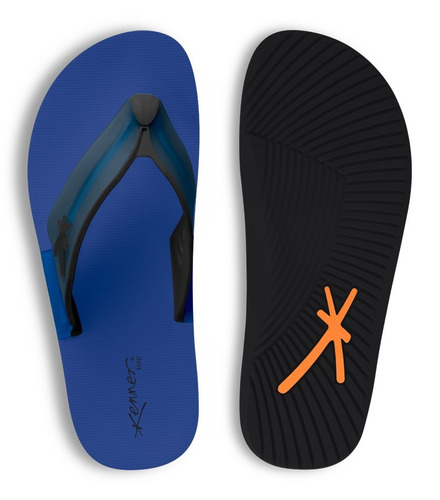 sandália kenner trop paint ktv - azul
