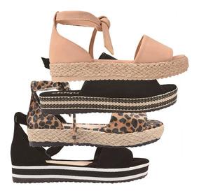 ceb9332d5 Kit Sandalia Plataforma Direto Da Fabrica - Sapatos com o Melhores Preços  no Mercado Livre Brasil