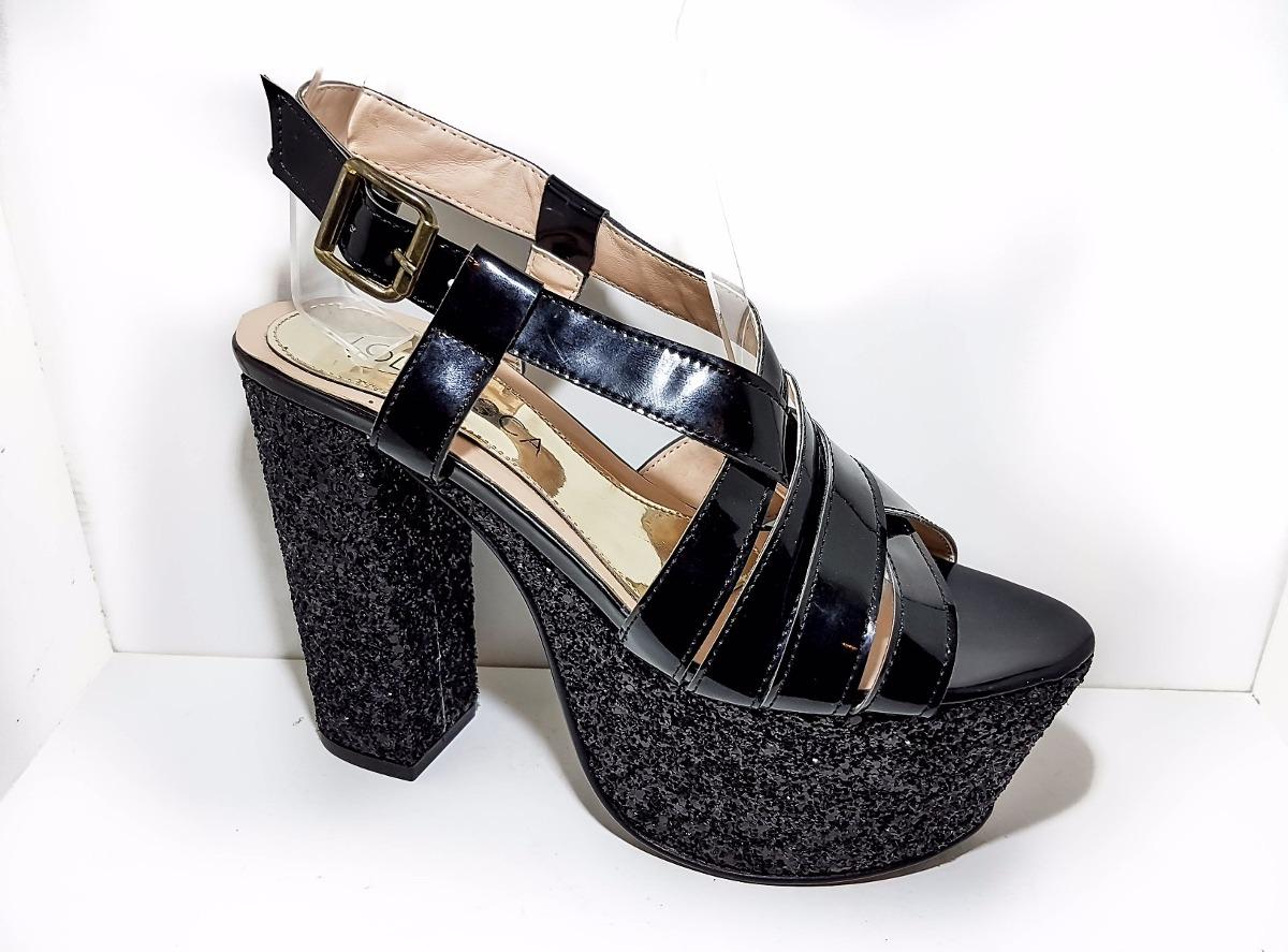 b7ebeddf sandalia lola roca original , cuero glitter, calzado fiesta. Cargando zoom.