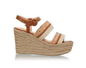 5c46de9c4 Carmelia Sandalia Feminino Plataforma - Sapatos no Mercado Livre Brasil