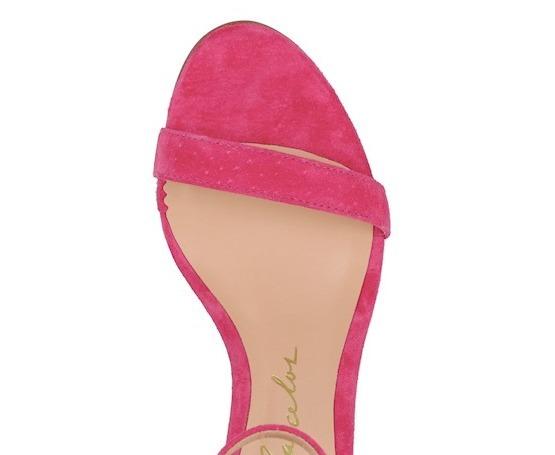 7f7f0de0b Sandalia Luiza Barcelos Salto Alto Rosa Pink 10470129-25 - R  359