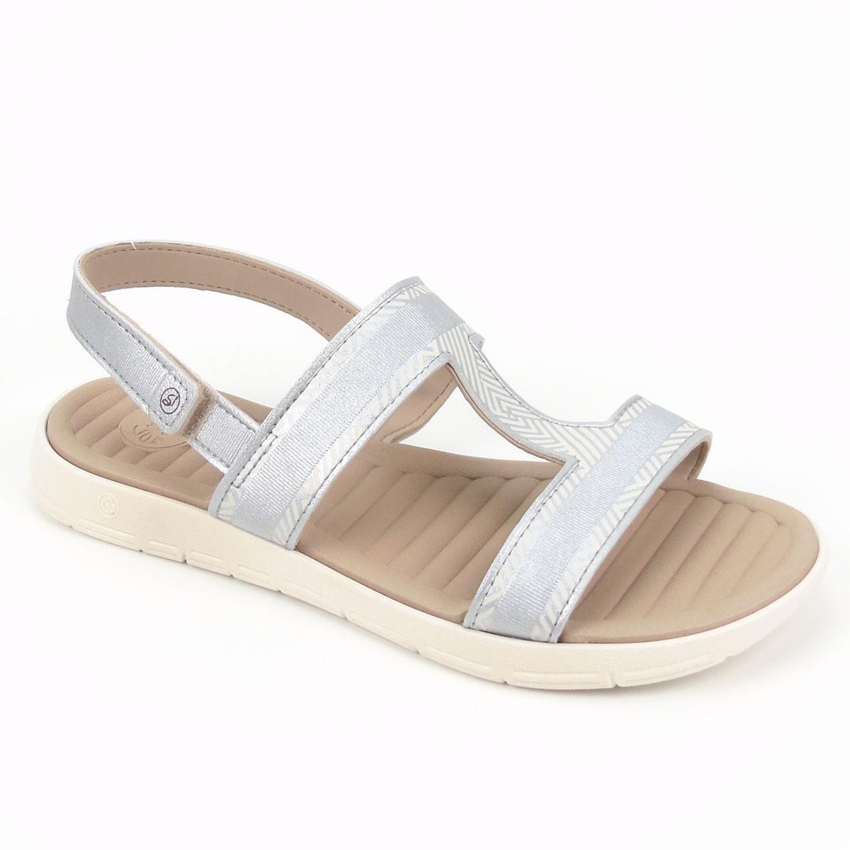 1103e18ad7 sandália macia rasteira grendha na cor prata sense soft ii. Carregando zoom.