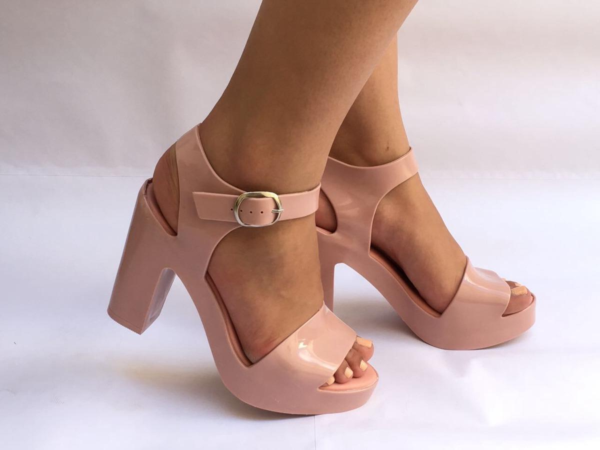 8c02d68f1 Sandália Mar Heel Sandália De Salto Lançamento - R$ 62,90 em Mercado ...