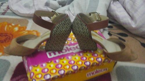 sandalia marca moleca