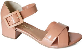 c85612577 Sandalias Baratas Salto 50,00 - Sapatos Rosa em Itaúna com o ...