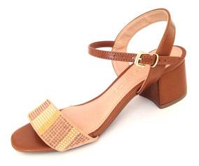 7dab6fc746 Sandalia Mariotta Salto Medio Feminino - Sapatos no Mercado Livre Brasil