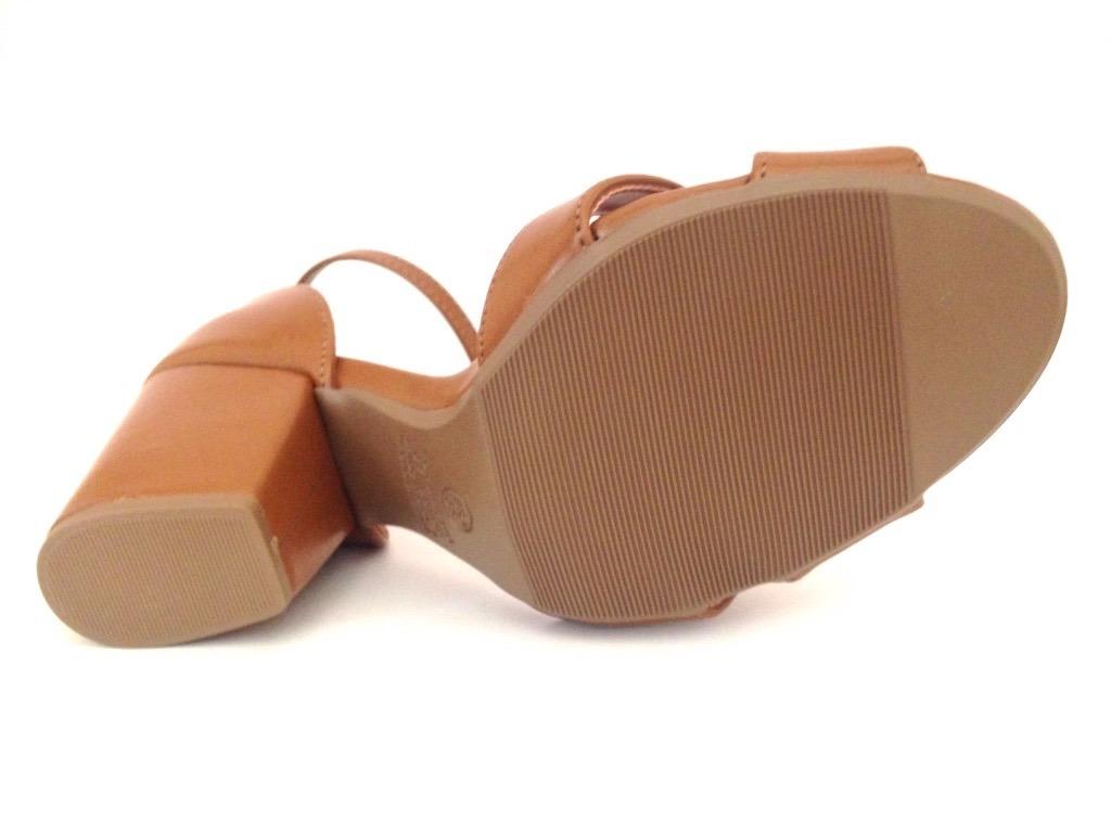 3ec1847441 sandália mariotta marrom salto médio 17960-590. Carregando zoom.