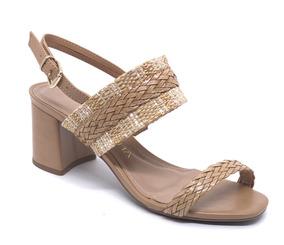 0eb45ec9a Sandalia Mariotta Salto Grosso Feminino Sandalias - Sapatos no Mercado  Livre Brasil