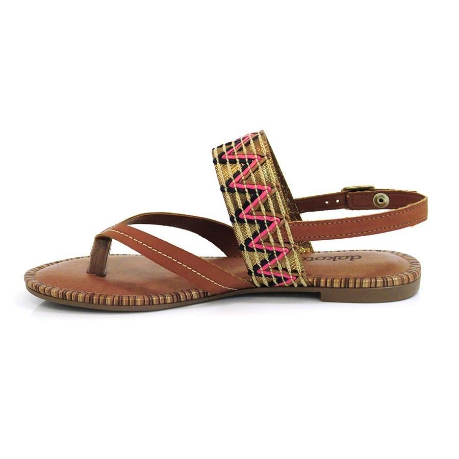 b5493b0e2 sandália marrom rasteira dakota - z0962 - vizzent calçados. Carregando zoom.