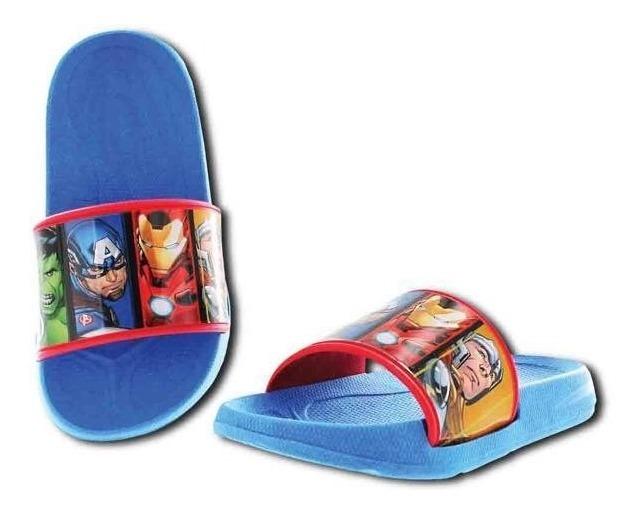 Marvel Avengers Sandalias de Verano para ni/ños