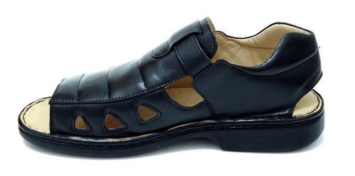 sandália masculina antistress indicado para diabéticos