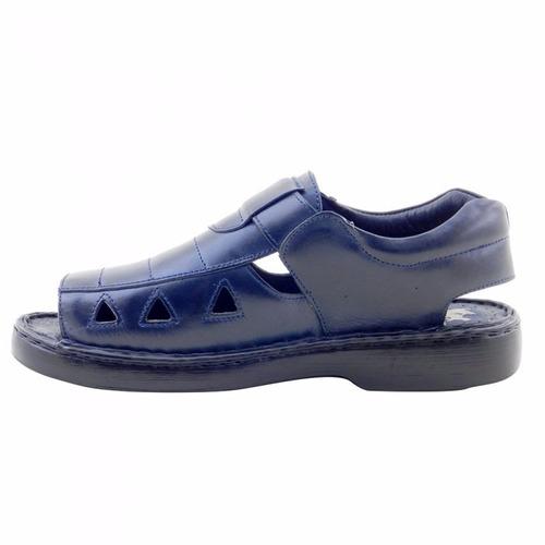 sandália masculina inovatta comfort dr shoes ref 303 top