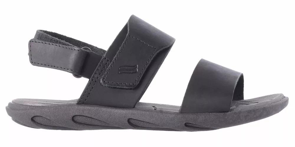 36f635187 sandália masculina itapuã couro 15101p15 - preto. Carregando zoom.