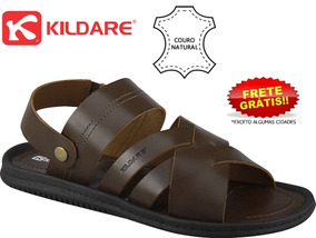 ca7b475676 Sandália Masculina Kildare Bs1707 Timber Coffee Couro
