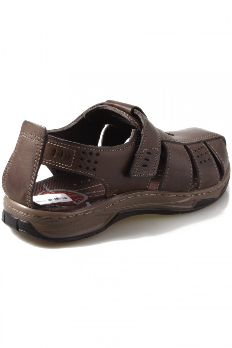 c9c38a1fea sandália masculina pegada anilina 132201 cravo. Carregando zoom.