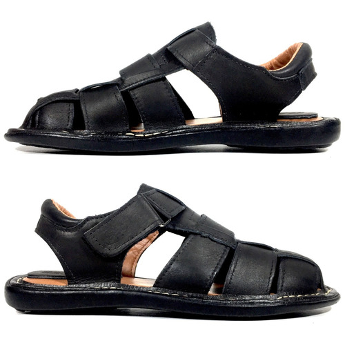 sandália masculina preço de fábrica em couro 100% legítimo!