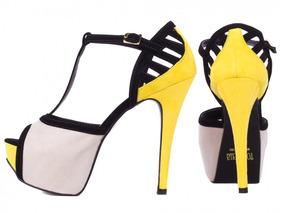 a626bf008 Sandalia Dumond Meia Pata - Sapatos para Feminino Amarelo em Rio ...