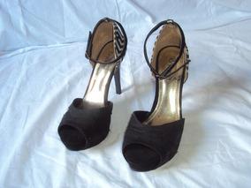 3af9a58cd Sandalia Crysalis Meia Pata Peep Toe - Sapatos no Mercado Livre Brasil