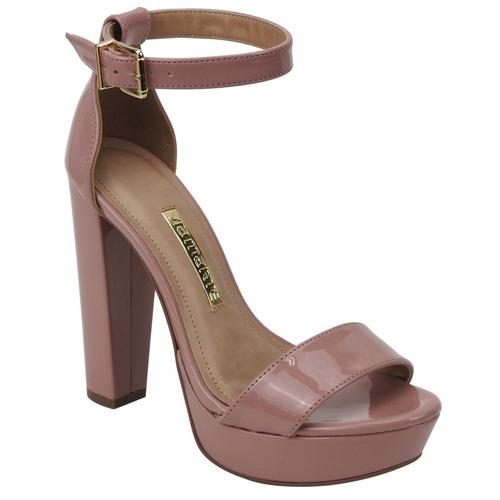 sandália meia pata via marte 17-8607 | katy calçados