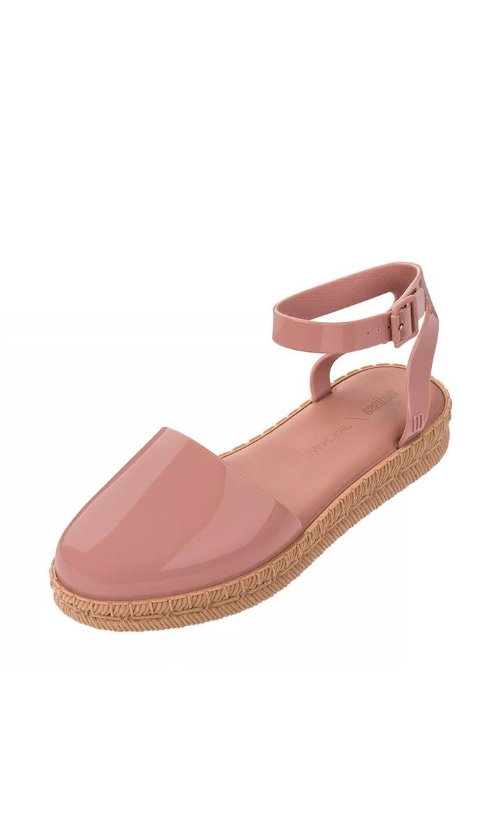 8843e5828 sandália melissa espadrille + jason wu rosa com bege. Carregando zoom.
