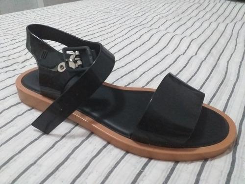 sandália melissa original usada uma vez tamanho 36