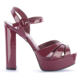 fd66f83032 Sapatos Meia Pata Tiffany Feminino - Calçados, Roupas e Bolsas Violeta- escuro com o Melhores Preços no Mercado Livre Brasil