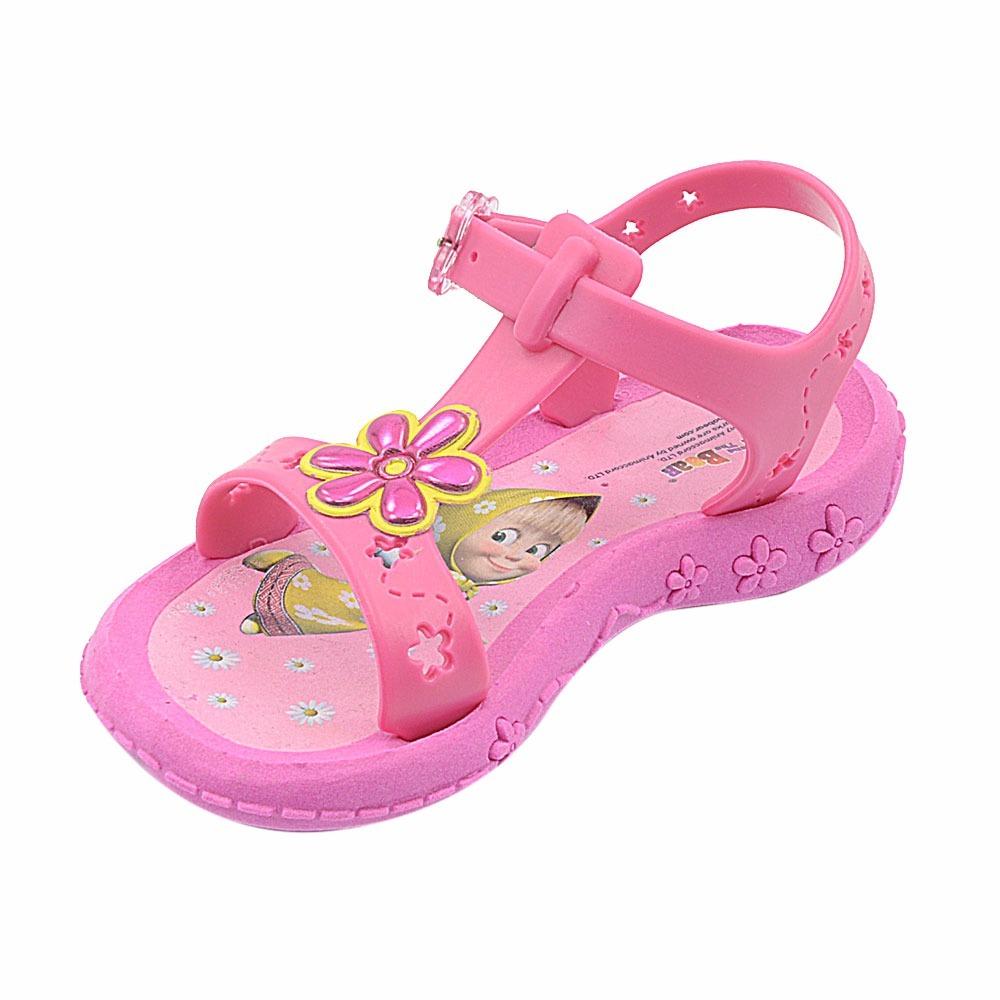 945f9050d7 Carregando zoom... menina com sandália. Carregando zoom... sandália infantil  feminina menina masha e o urso ...