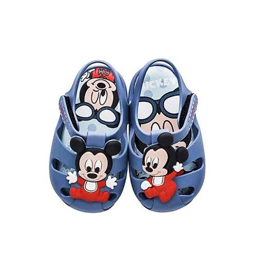 sandália mickey grendene sweet dreams azul baby 009990