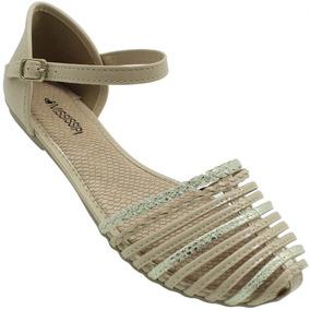 b44ab8d1ce Sandalias Mississipi Nude - Sapatos no Mercado Livre Brasil