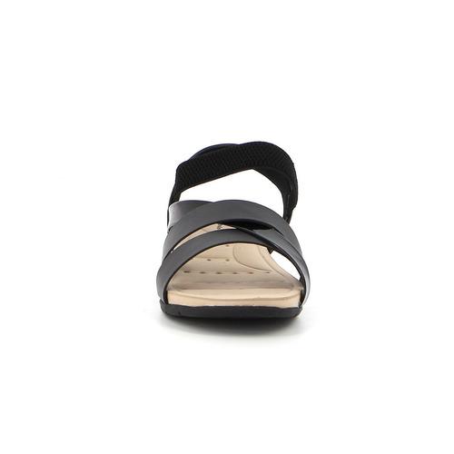 sandalia modare de mujer baja tiras cruzadas