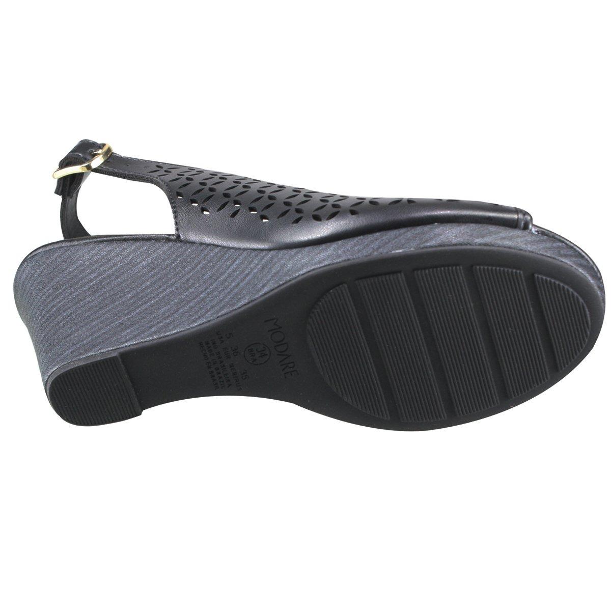 d29a7e86d3 sandália modare ultraconforto anabela 7101.323 5536 15745. Carregando zoom.