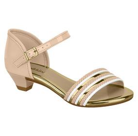 451868f3d Sandalia Infantil Molekinha Salto - Sapatos para Meninas Rosa com o  Melhores Preços no Mercado Livre Brasil