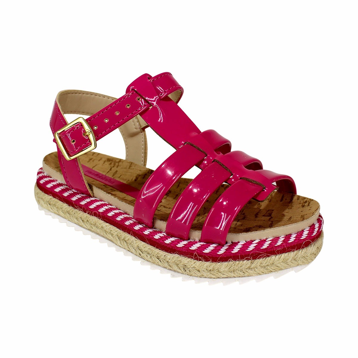 7faf3257a sandália molekinha verniz premium - pink - frete grátis. Carregando zoom.