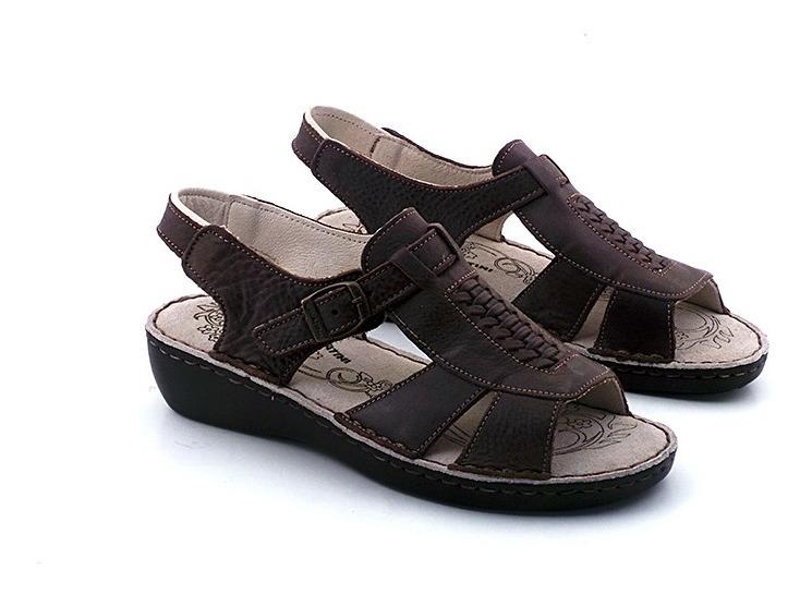Cuero Goma Confort Cavatini Mcsd04209 Zapato Sandalia Mujer ygf76bY